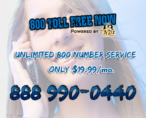Unlimited Toll Free Services