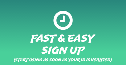 Easy Sign Up after Id Verification