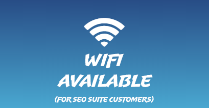 Wi Fi Available in Most Locations